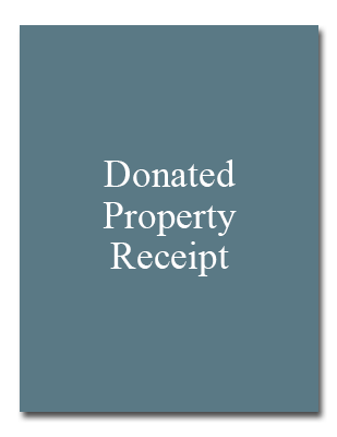 Donated Property Receipt